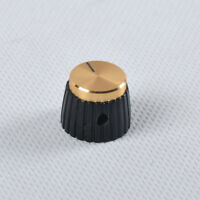 """20pcs Marshal Style Guitar Tube Amp Audio Amplifier Control Knob W Gold Top 1/4"""""""