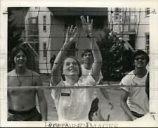 New listing 1974 Press Photo Oregon National Guards play volleyball - orb83919