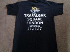 U2 Joshua Tree Trafalgar Sq 11.11. 2017 T Shirt Large