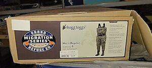 Frogg Toggs Mens Grand Refuge 2.0 Bootfoot Chest Wader Realtree Max 5 Sz 8