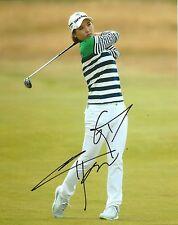 So Yeon Ryu signed Lpga 8x10 photo with Coa