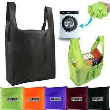 Eco Friendly Reusable Foldable Washable Travel Shopping Bag Grocery Tote Bag