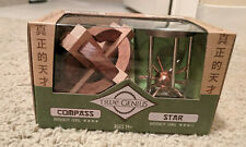 Project Genius True Genius Compass and Star Puzzle New Damaged Packaging