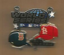 2004 World Series Program Boston Red Sox VS St Louis Cardinals