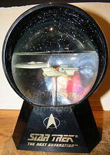 Star Trek TNG USS ENTERPRISE NCC-1701D Musical Waterball ~ Willitts
