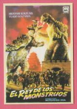 Spanish Pocket Calendar 243 - Godzilla Raids Again Film Poster Hiroshi Koizumi