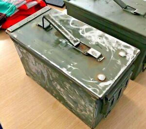Ex Army Ammunition Boxes- UNPAINTED