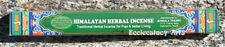 "Tibetan HIMALAYAN HERBAL INCENSE 40 STICKS - 10.5""L Nepal Incense NEW {:-)"