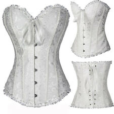 Corsets and Basques Lace Up lingeries Boned Plus Size Burlesque Costume Bustiers