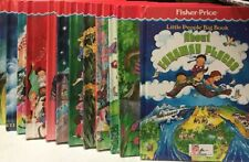 Fisher Price Little People Big Book Lot of 12 Total Books (Time Life Children)