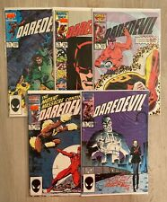 Daredevil #235-239 complete - hi-res pics - Mutant Massacre [236 237 238] - 1987