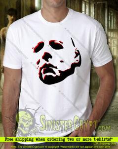 Michael Myers Ghost Face t-shirt, Mask Halloween Kills Boogeyman, Small to 6XL