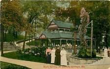 Missouri, MO, El Dorado Springs, Main Spring Early Postcard