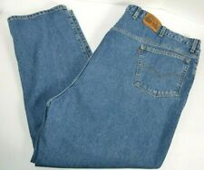 Vtg Levi's Signature Mens Big & Tall 540 Relaxed Fit Blue Jeans Orange Tab 56x30
