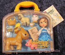 Disney Animators' Collection Mini Doll Play Set Belle NEW!