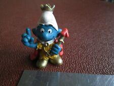 Vintage Smurf figure - King. Peyo/Schleich