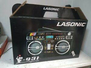 NEW IN BOX TIME CAPSULE!  Vintage Lasonic i-931 Portable Boombox!