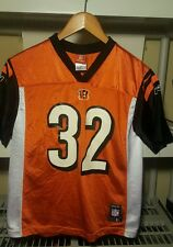 Reebok Cincinnati Bengals Rudi Johnson youth FOOTBALL JERSEY L 14-16