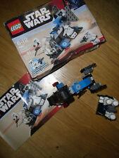 Lego star wars X2 Packs de 7667 et 7668, complet avec manuels