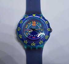 """Swatch SCUBA Armbanduhr """"BERMUDA TRIANGLE"""" SDN106 in OVP mit Etikett /UNGETRAGEN"""
