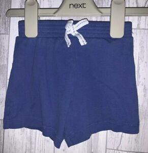 Girls Age 18-24 Months - Next Blue Shorts