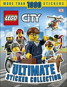 LEGO City Ultimate Sticker Collection by DK Book The Cheap Fast Free Post