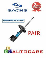 SACHS -  PEUGEOT 307 + SW FRONT LEFT RIGHT GAS STRUT SHOCK SHOCKERS ABSORBER