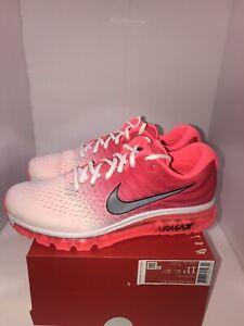 Nike Air Max 2017 'Hot Punch' Red Sneaker, Size 11.5 W / 10M BNIB 849560-103