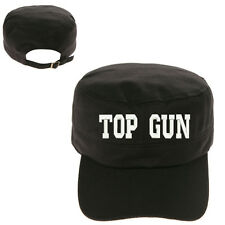 TOPGUN TOP GUN MILITARY CADET ARMY CAP HAT HUNTER CASTRO