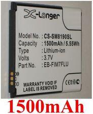 Batteria 1500mAh tipo EB-F1M7FLU Per Samsung GT-i8190L Galassia S3 Mini