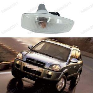 1Pcs Side Marker Lights Lamp Clear White LH=RH side For Hyundai Tucson 2005-2009