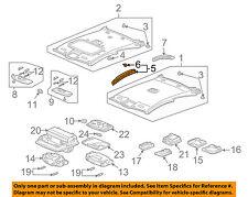 HONDA OEM 03-04 Accord Interior-Roof-Front Insulator Left 83253SDNA01