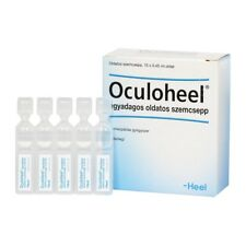 HEEL Oculoheel Eye Drops 15 Vials Homeopathic Eye Redness Irritation and Strain