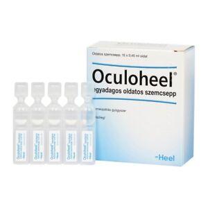 HEEL Oculoheel Eye Drops 15 Vials Homeopathic Eye Redness Irritation and Strain