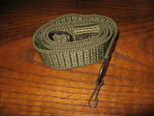 Romanian forest green nylon web rifle sling with clip combloc 7.62x39 military