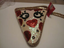 BETSEY JOHNSON SAY CHEESE PIZZA SLICE WRISTLET