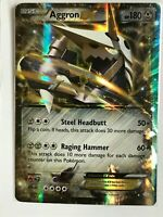 Aggron EX ULTRA RARE 93/160 XY Primal Clash Pokemon card TCG NM HOLO