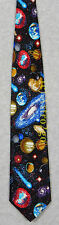 UNIVERSE STARS PLANETS COMETS SPACE ASTRONOMY Museum Artifacts Silk Necktie NEW!