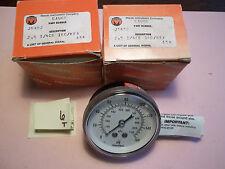 LOT OF 2 NEW IN BOX MARSH GAUGE J5452 2.5 1/4CB 160/KPA (DR1C-3)