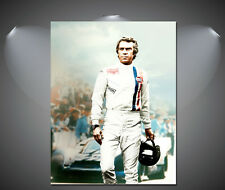 Steve McQueen Le-Mans Vintage Movie Poster - A1, A2, A3, A4 sizes