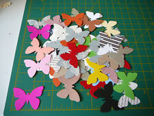 scrapbooking embellishment 50 mixed butterflys