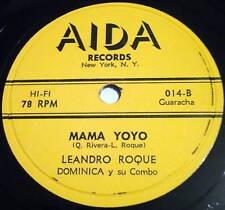 LEANDRO ROQUE Dominica y su combo Mariana LATIN 78 Aida