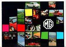 Mg Mgb, Mgb Gt, Mg Midget Mk.iii y mg1300 Mk.ii folleto de ventas 1970 1971