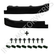 C5 CORVETTE FRONT SPOILER LEFT AND RIGHT SIDE SECTIONS NEW + UPGRADED HARDWARE