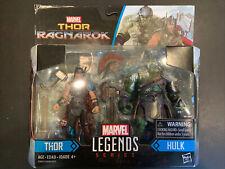 Hasbro Marvel Legends Series Thor Ragnarok 3.75-inch Thor & Hulk NEW!  RARE!