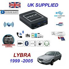 For Lancia Lybra Bluetooth Telephone Streaming AUX Input 2 x USB SD Card Reader