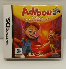 Nintendo DS Game - ADIBOU AVENTURE - explore le corps humain - USED
