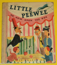 Little Peewee or Now Open The Box 1948 Little Golden Book First Edition Nice See