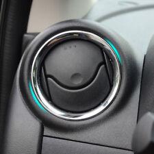 For Nissan Versa 2012 – 2017 A/C Air Vent Dashboard Chrome Cover Trim Surround