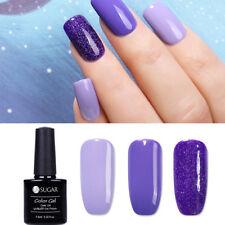 3pcs UR SUGAR Nail Art Gel Polish Set UV LED Gel Colors Manicure Purple Series
